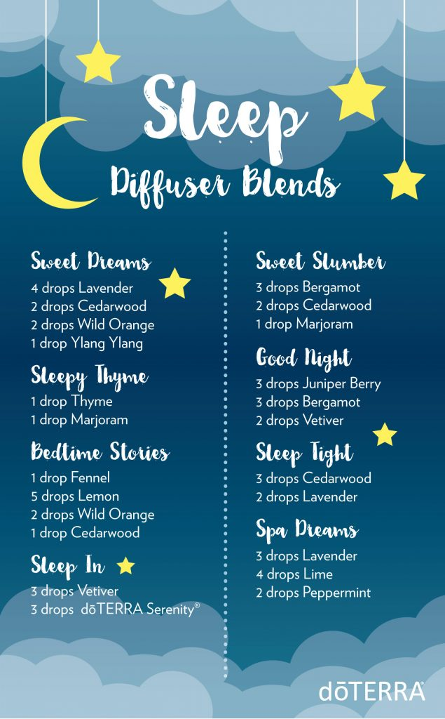 Diffuser Blends that Promote Sleep